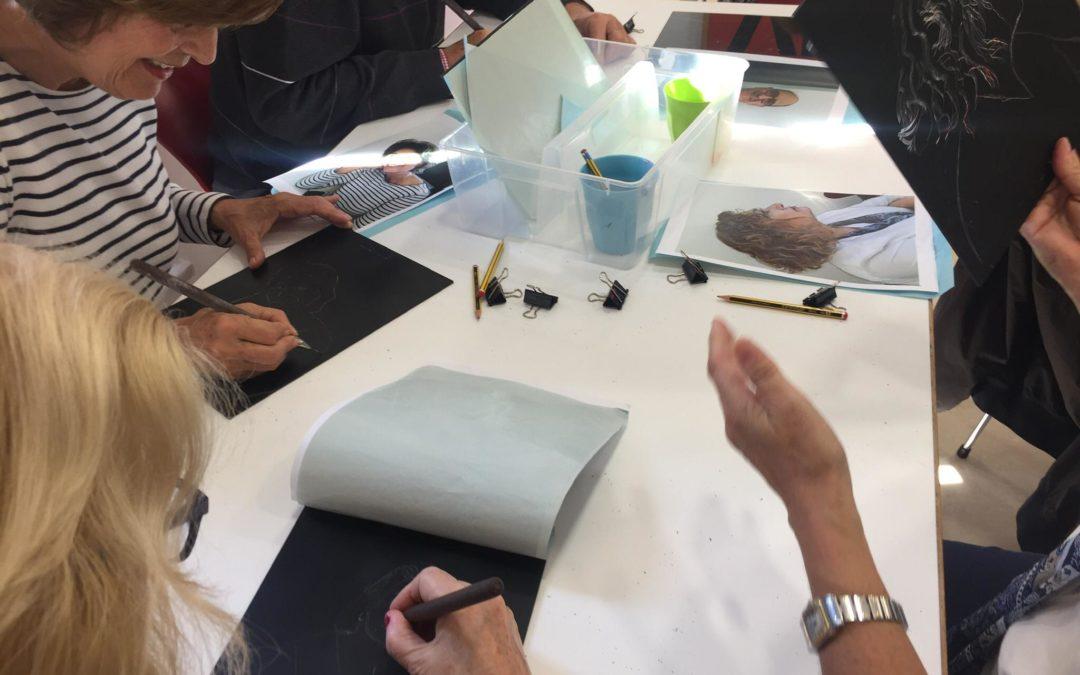 El Museo Picasso expone los trabajos de usuarios de AFA Málaga