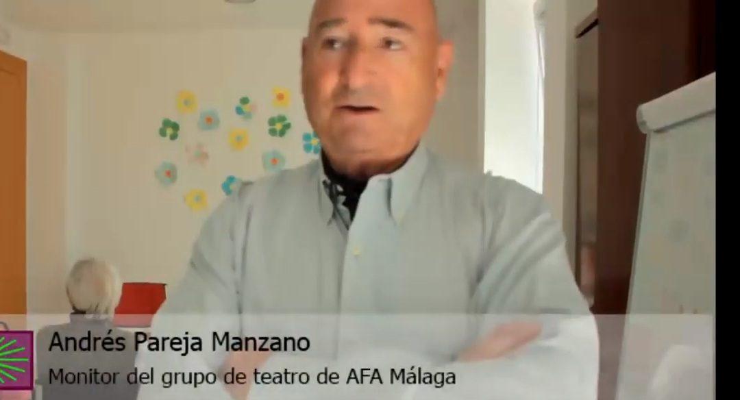 Así son las terapias en AFA Málaga (II): Teatro para trabajar la memoria