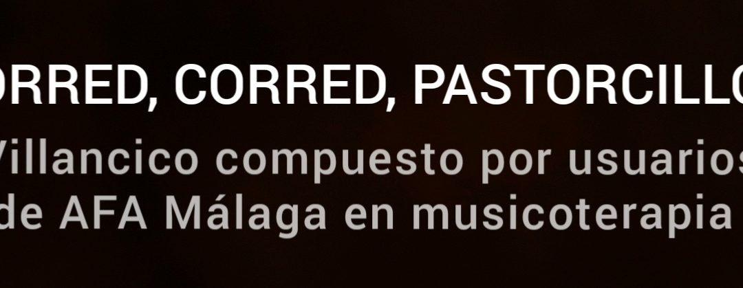 Usuarios de AFA Málaga componen e interpretan un villancico