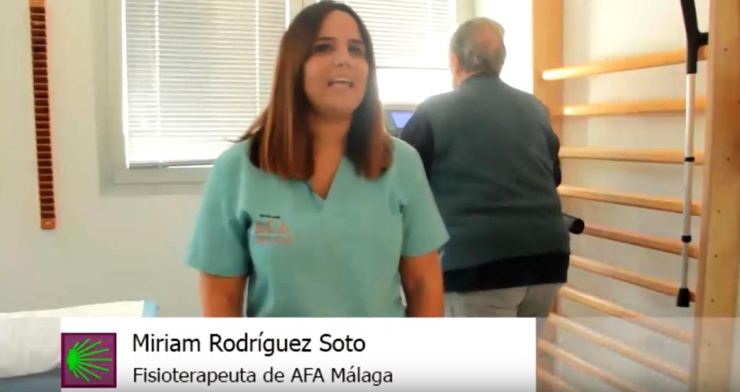Así son las terapias en AFA Málaga (V): Fisioterapia