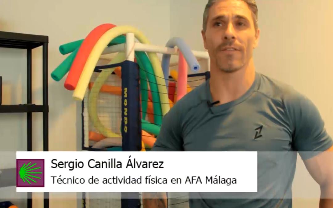 Así son las terapias en AFA Málaga (IV): El trabajo en piscina