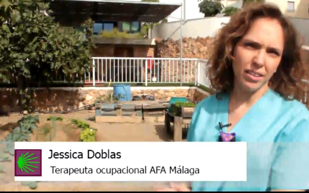 Así son las terapias en AFA Málaga (IX): Huerto